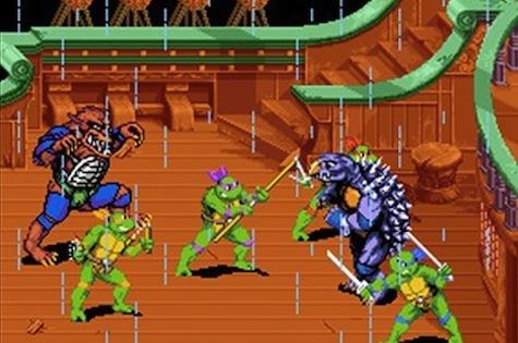 TMNT 4: Turtles In Time - Arcade/Super Nintendo