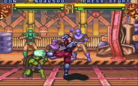 TMNT: Tournament Fighters - Snes version pictured