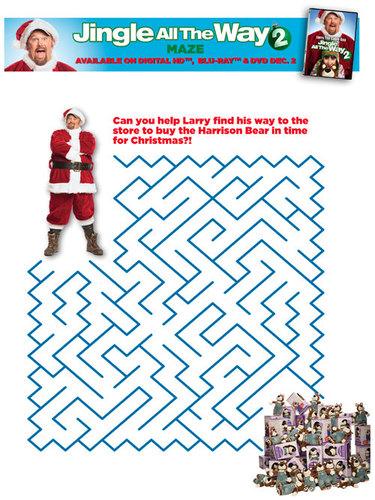 Jingle All The Way 2 Maze