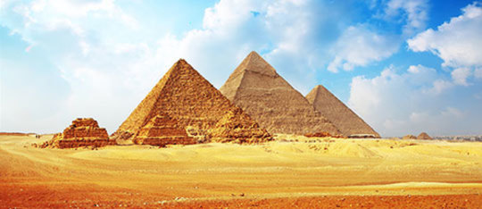 how to make egyptian pyramids for school project