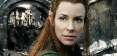 Tauriel (Evangeline Lilly) is ready for battle