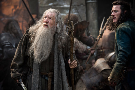 Bard and Gandalf face overwhelming odds