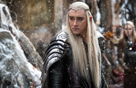 Elf king Thranduil: elegant but dangerous!