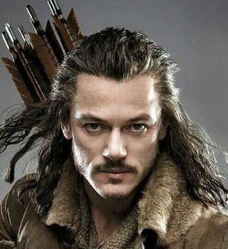 Romantic pic of Bard (Luke Evans)