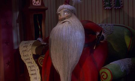 Jack Skellington brings a little Christmas cheer to Halloween Town