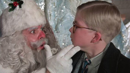 This is one mean Santa, but he's fun to watch