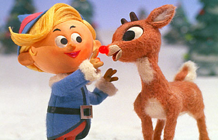 Rudolph the Red-Nosed Reindeer, you'll go down in history!