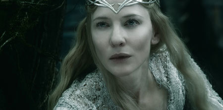 Galadriel (Cate Blanchett) to the rescue