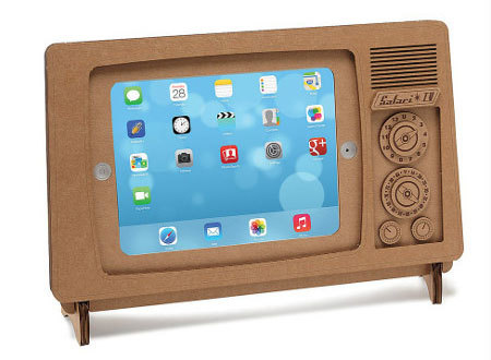 Is it your iPad, or an old-timey TV?