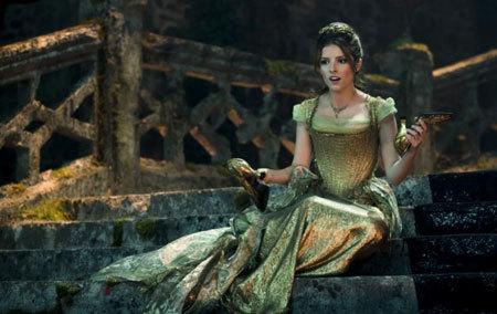Cinderella (Anna Kendrick) after the ball