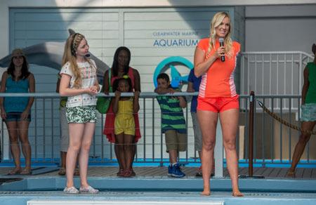 Bethany Hamilton in Dolphin Tale 2