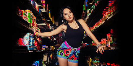 Becky G makes us want to sing in the shower!