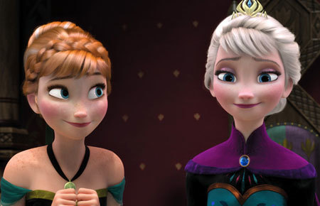 Elsa and Anna are back in a new short!