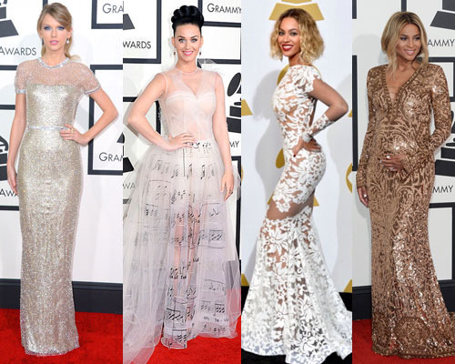 Taylor Swift, Katy Perry, Beyoncé and Ciara shined on the red carpet!