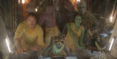 The gang makes an escape