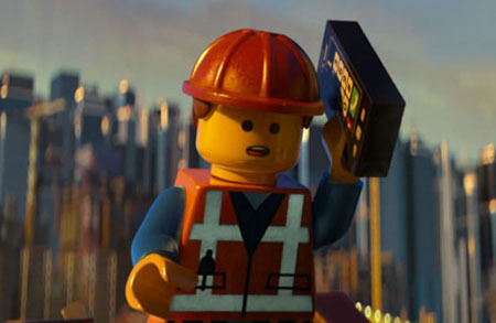 Emmet out to save the day