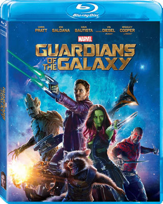 Guardians of the Galaxy Blu-ray cover art