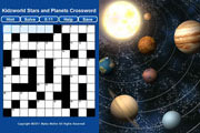 Preview stars planets crossword pre