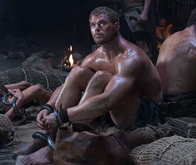 Hercules in chains