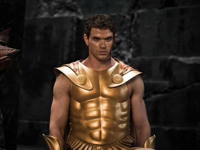 Hercules in more God-like garb