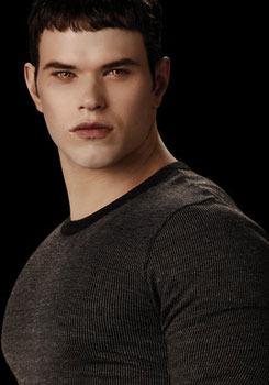 Kellan as Emmett Cullen in the Twilight saga