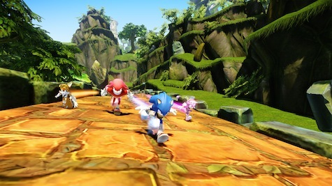Sonic's trade-marked speed is intact