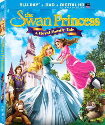 The Swan Princess: A Royal Family Tale Cover Art