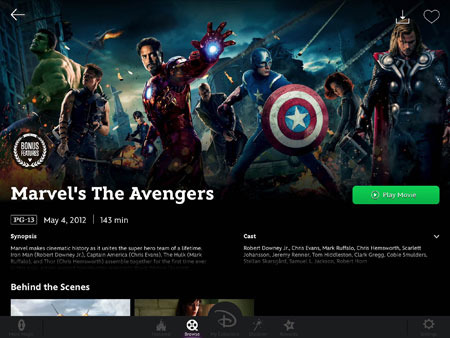Watch movies like The Avengers!