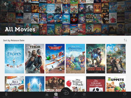 Browse your movies on your iPad, iPhone iPod Touch and computer