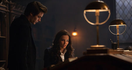 Christian researches with Rose (Zoey Deutch)