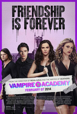 Poster for Vampire Academy