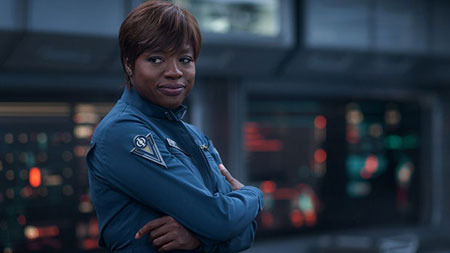 Viola Davis as Major Anderson