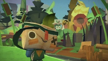 Tearaway for the PS Vita