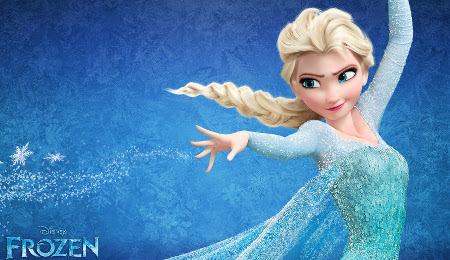 Elsa and her magical powers