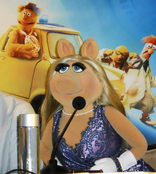 Miss Piggy at our interview