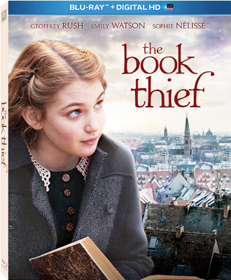 The Book Thief Blu-ray and DVD Cover