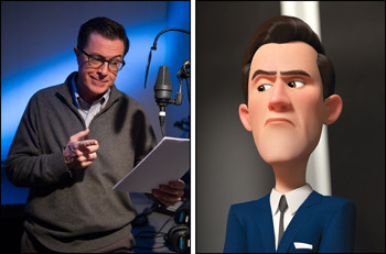 Stephen Colbert is Paul Peterson