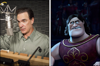 Patrick Warburton voices Trojan warrior Agamemnon