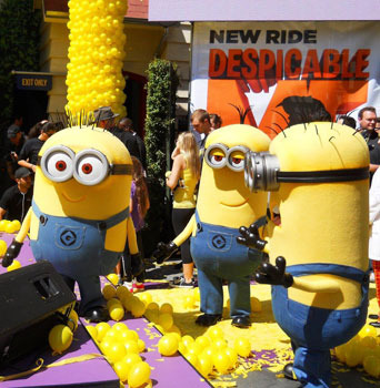 Minions ask Are we supposed to clean up now?