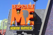 Preview despicable me ride pre