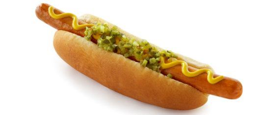 Best Baseball Stadium Food - Hotdog