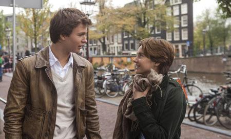 Hazel (Shailene) and Gus (Ansel) are two extraordinary teenagers