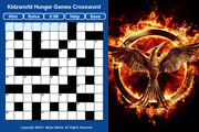 Preview hunger games crossword pre