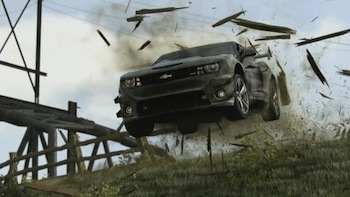 Obstacle in your way? Chevy Smash!