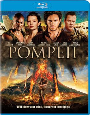 Pompeii Blu-ray Cover