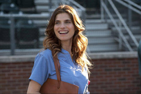 Brenda (Lake Bell) comes to a game