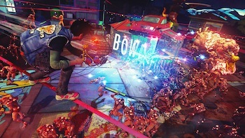 Sunset Overdrive, coming this fall.
