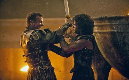 Milo and Senator Corvus fight for their lives