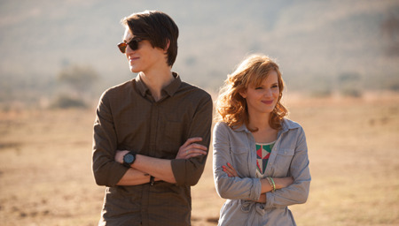 Bella as Hilary with Zak Henri as Jake