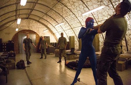 Mystique rescues fellow X-Men